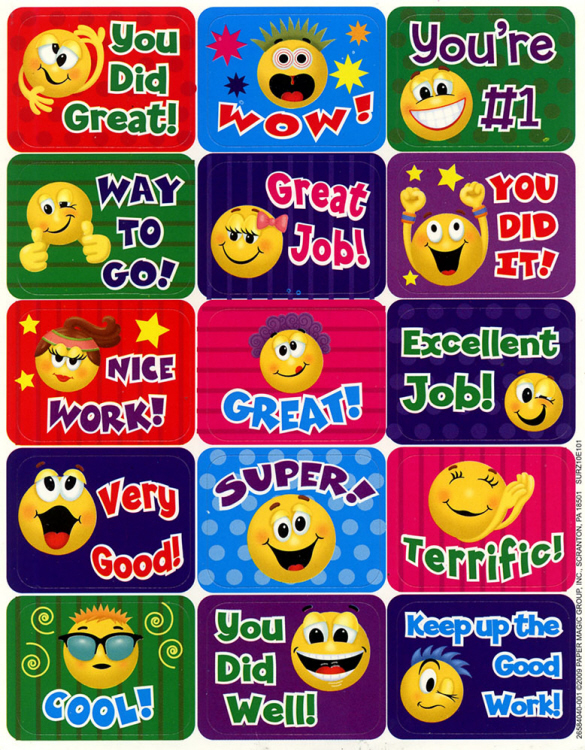 Emoticons - Success Stickers