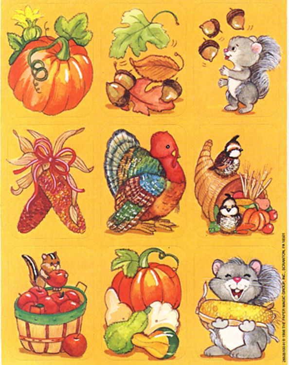 Autumn Images - Giant Stickers