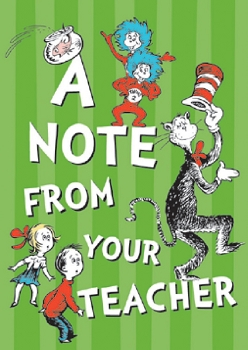 Cat in the Hat - Teacher Cards
