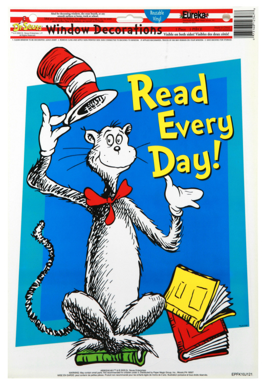 Cat in the Hat™ Read Every Day - Window Clings