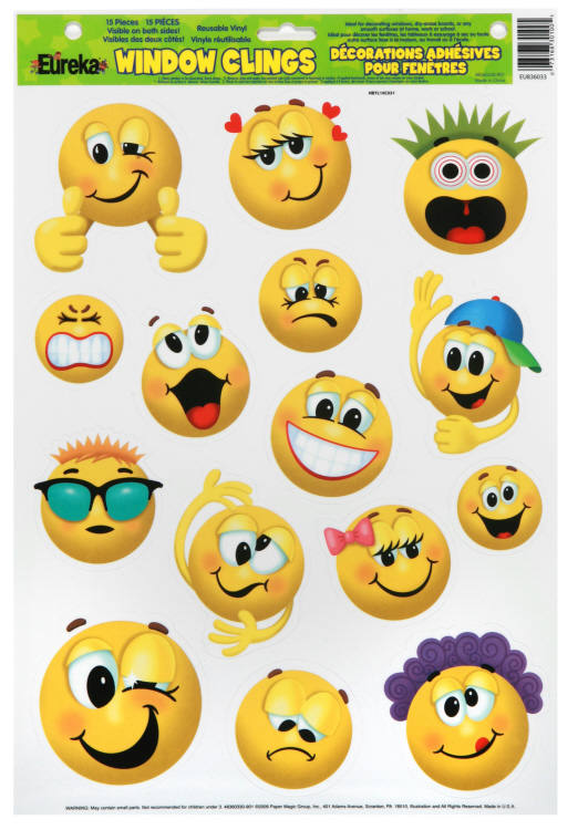 Emoticons - Window Clings