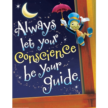 Pinocchio Conscience Poster