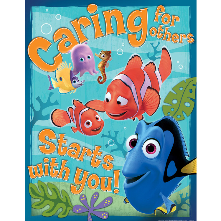 Finding Nemo® Caring for Others Poster
