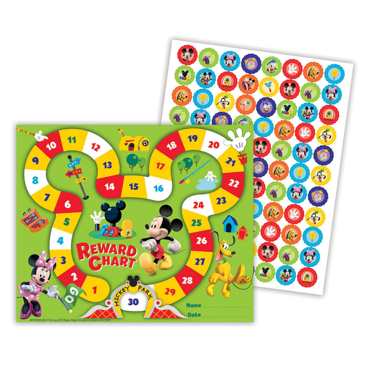 Mickey Mouse Clubhouse® Mickey Park - Mini Reward Charts