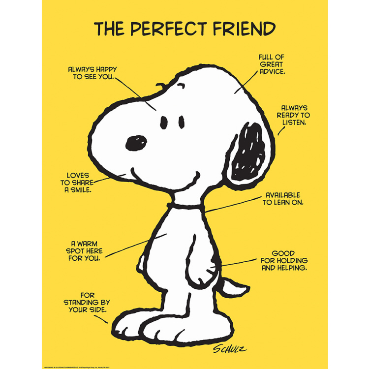 Peanuts® The Perfect Friend Poster