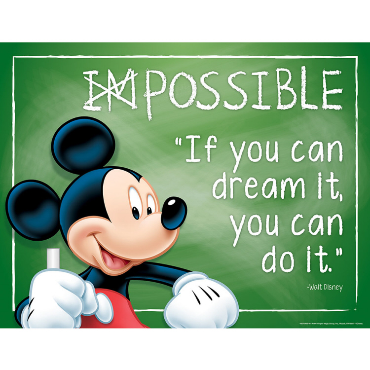 Mickey® Possible Poster