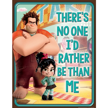 Wreck It Ralph Me Poster