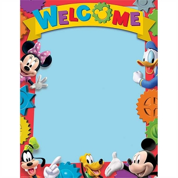 Mickey Mouse Clubhouse - Welcome Poster