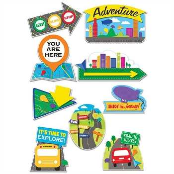 Learning Adventure - 2-Sided Deco Kit