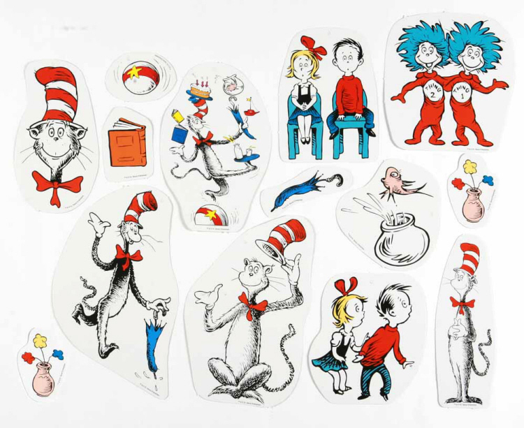 Cat in the Hat™ Characters - 2-Sided Deco Kit