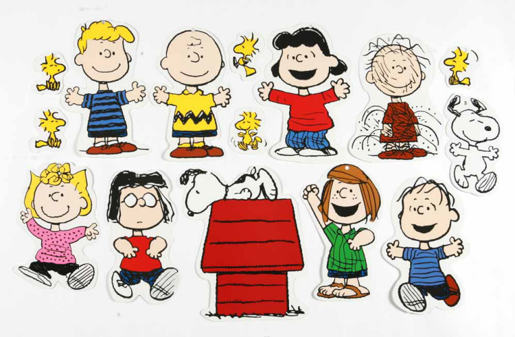 Peanuts® Classic Characters - 2-Sided Deco Kit