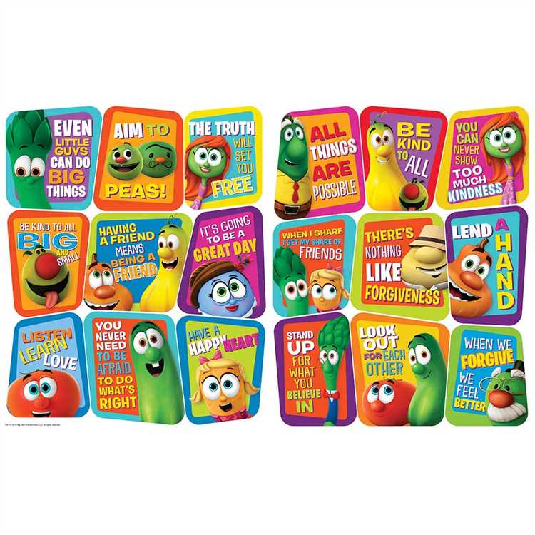 VeggieTales® - 2-Sided Deco Kits