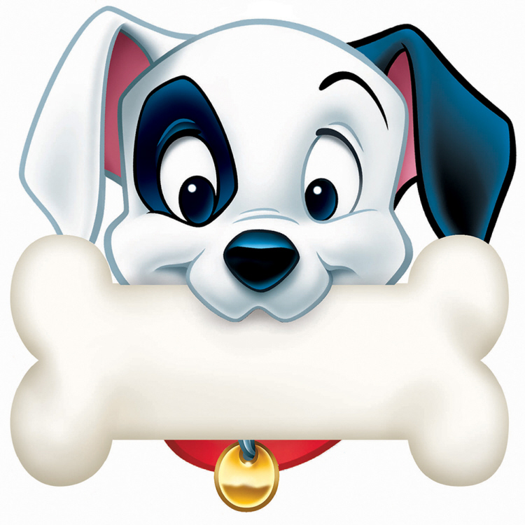 101 Dalmatians® Dog Bone - Paper Cut Outs