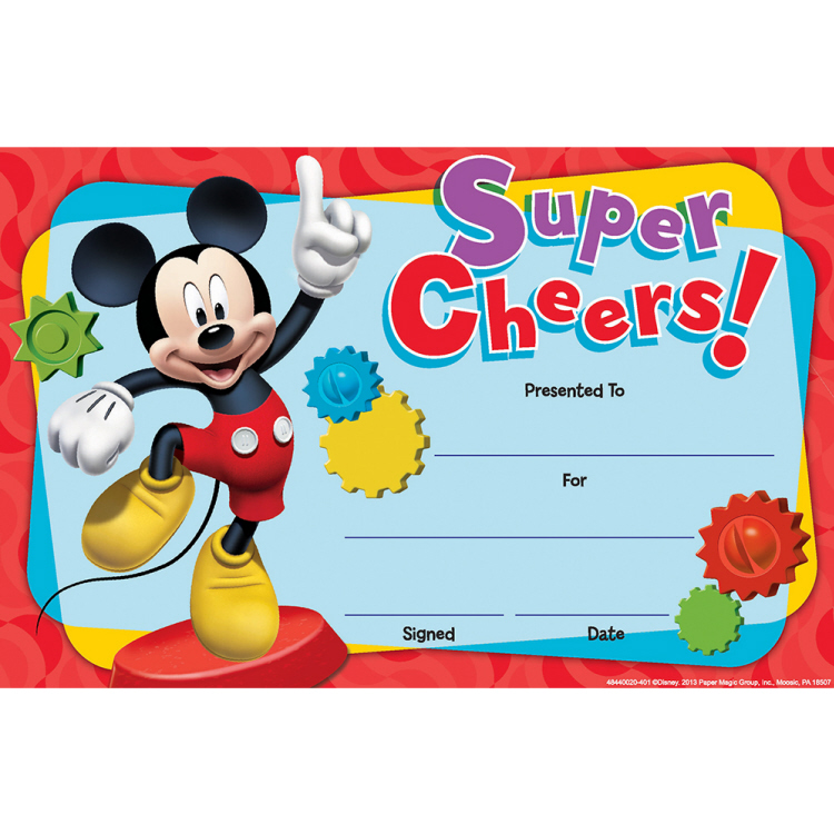 Mickey Mouse Clubhouse® Super Cheers - Recognition Awards