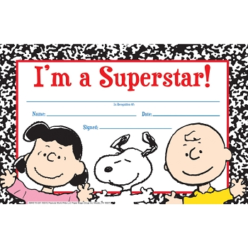 Peanuts Super Star - Recognition Awards