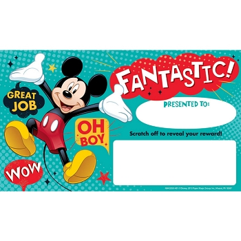 Mickey - Scratch-Off Rewards