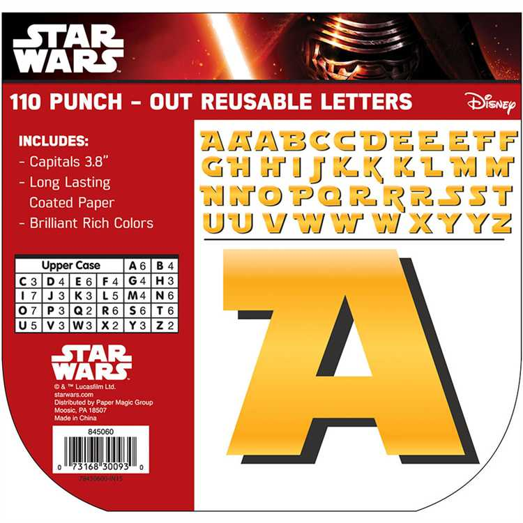 Star Wars™ - Deco Letters