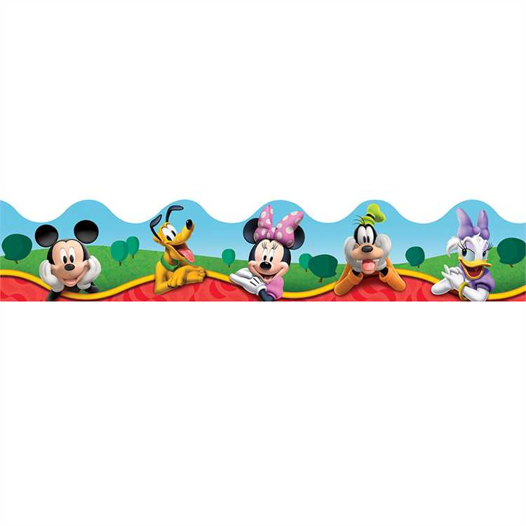 Mickey Mouse Clubhouse® Characters - Deco Trimmer®