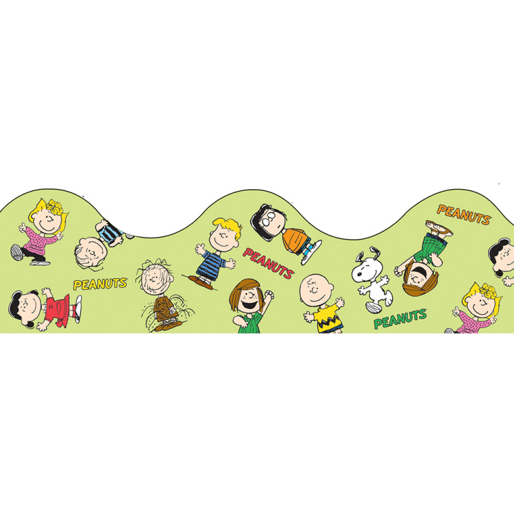 Peanuts® Gang - Scalloped Deco Trimmer®
