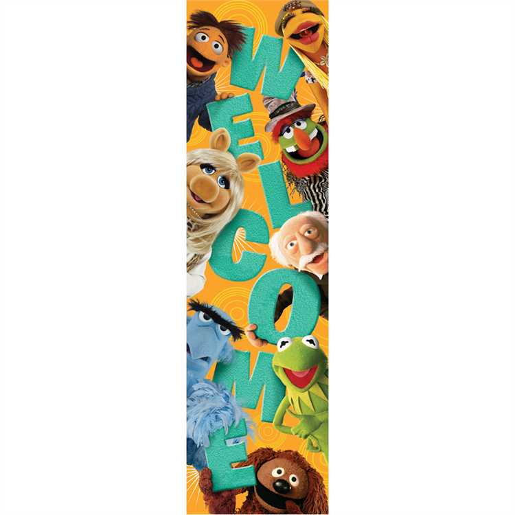Muppets® Welcome - Vertical Banner