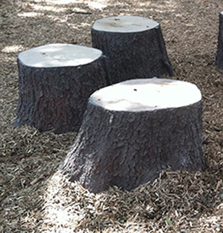 Flared Stump - Set of 3