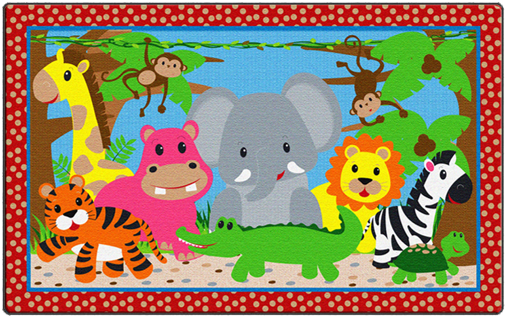 Cutie Jungle Rug - 2 Sizes