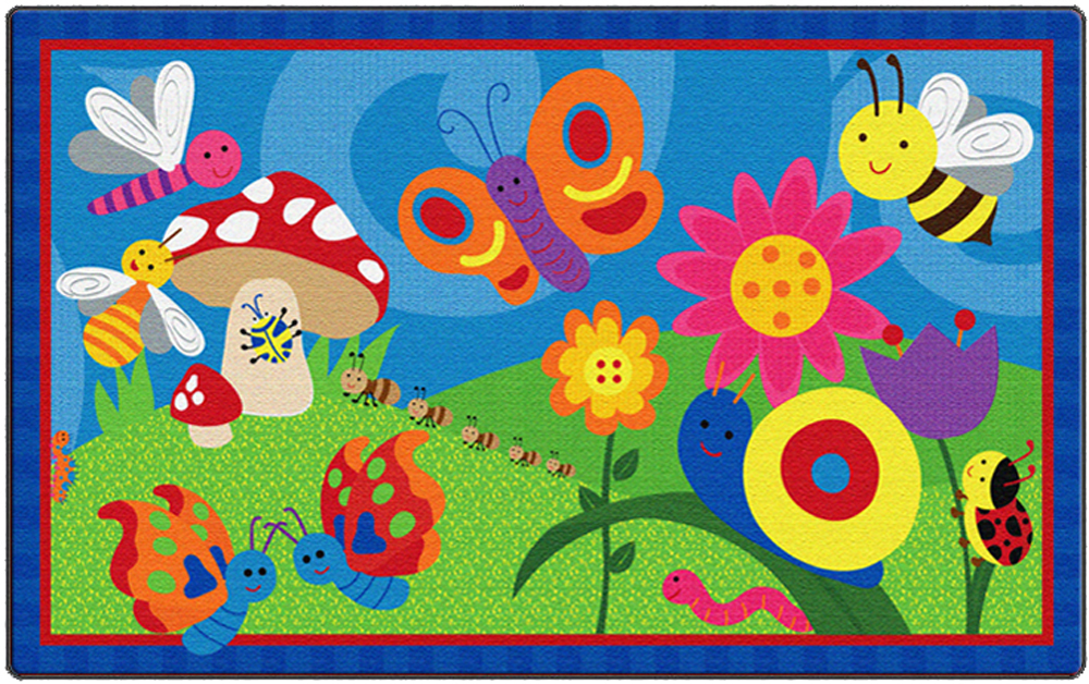 Cutie Bugs Rug - 2 Sizes
