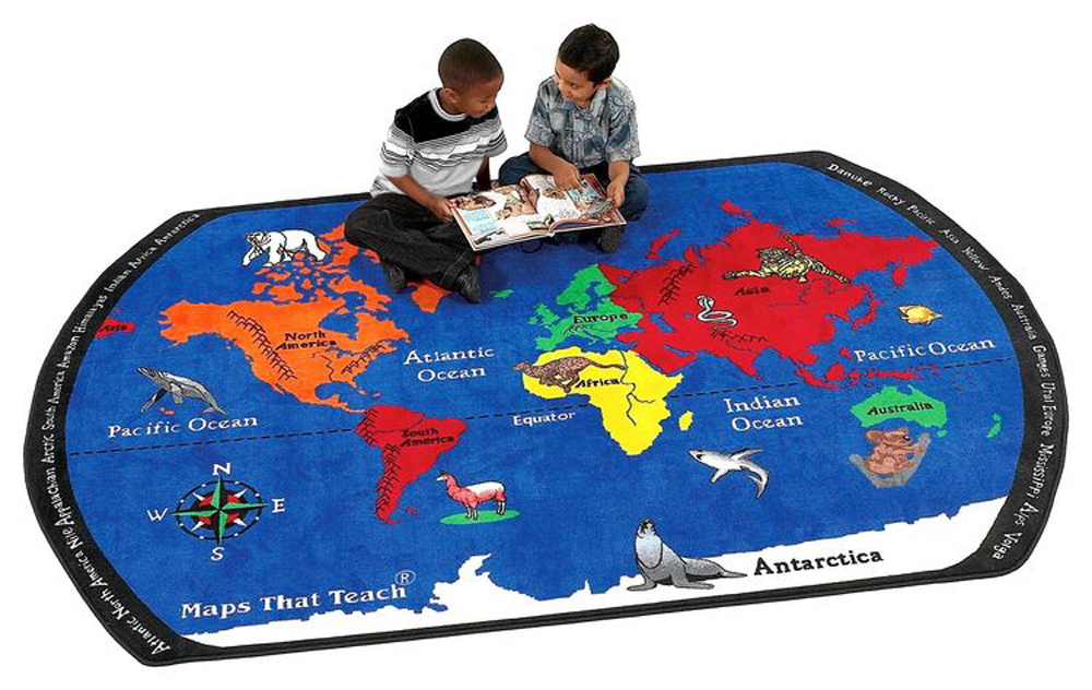 Maps That Teach - 3 Sizes Available