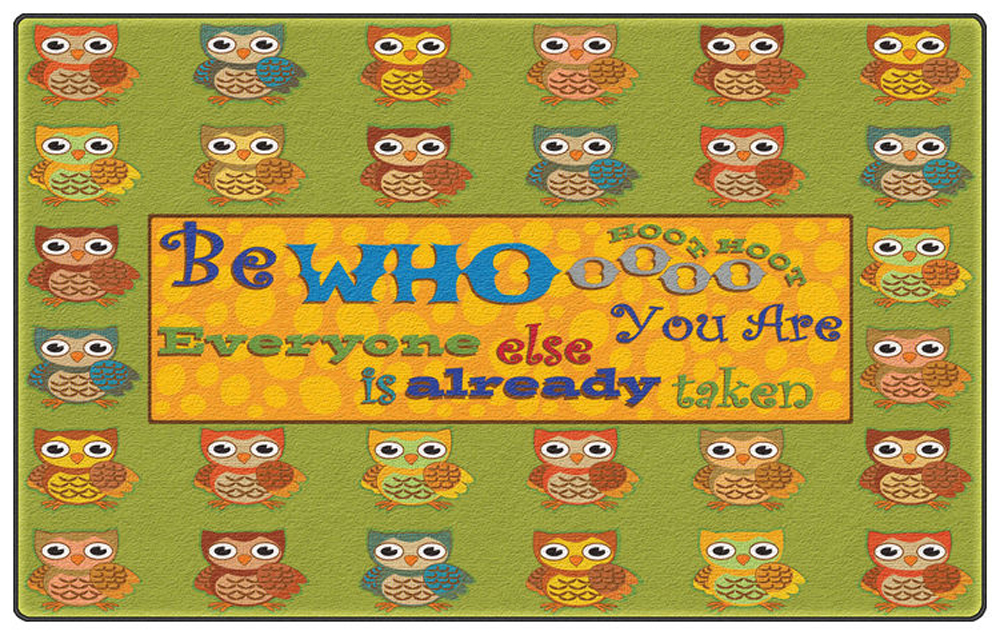 Be Whoooo You Are Rug - Multiple Sizes Available