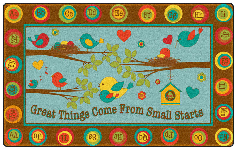 Great Things Come From Small Starts Rug - Multiple Sizes
