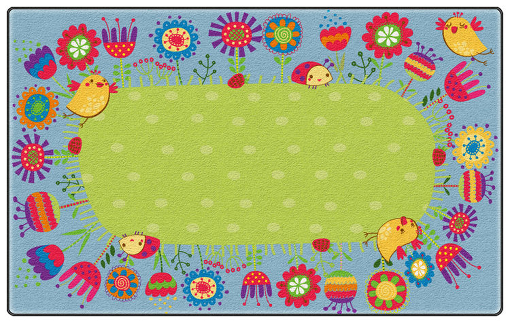 Good Morning Garden Rug - Multiple Sizes
