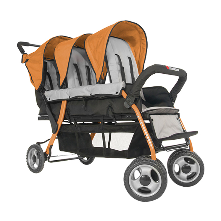 Sport Splash Trio Strollers - Multiple Colors
