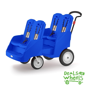 Gaggle Buggy Stroller (Up to 4 Children) - Blue