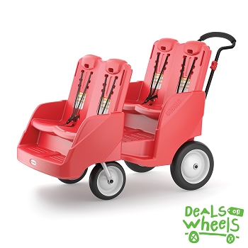 Gaggle Buggy Stroller (Up to 4 Children) - Red