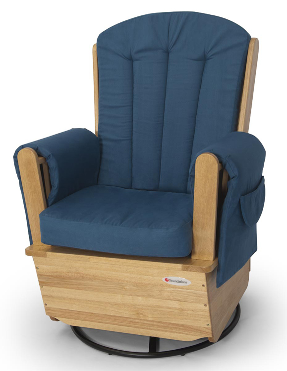 SafeRockerSS Swivel Glider
