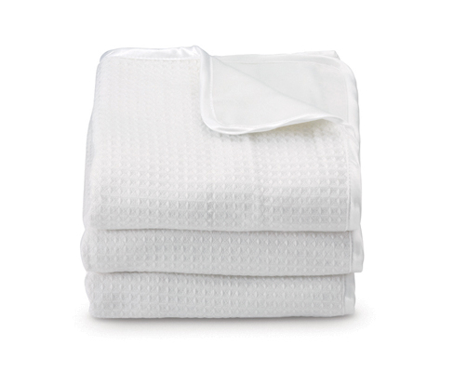 ThermaLux Luxury Acrylic Crib Blankets for Foundations Cribs - Set of 6, White or Mint