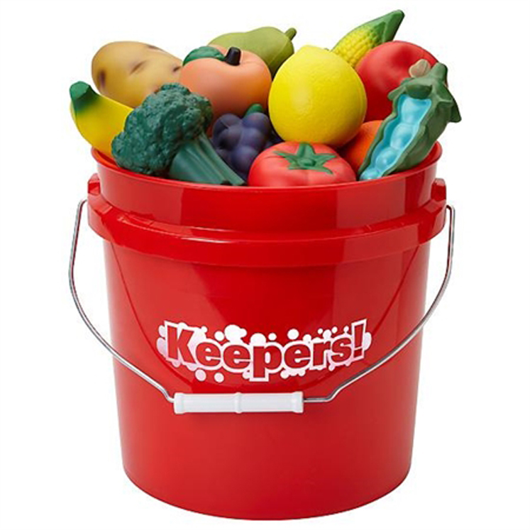 Junior Keepers! Bucket - Fruits and Veggies