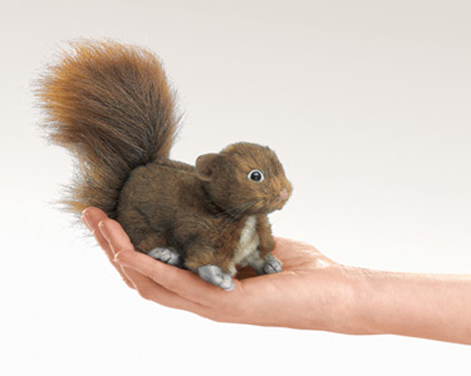 Mini Squirrel Red