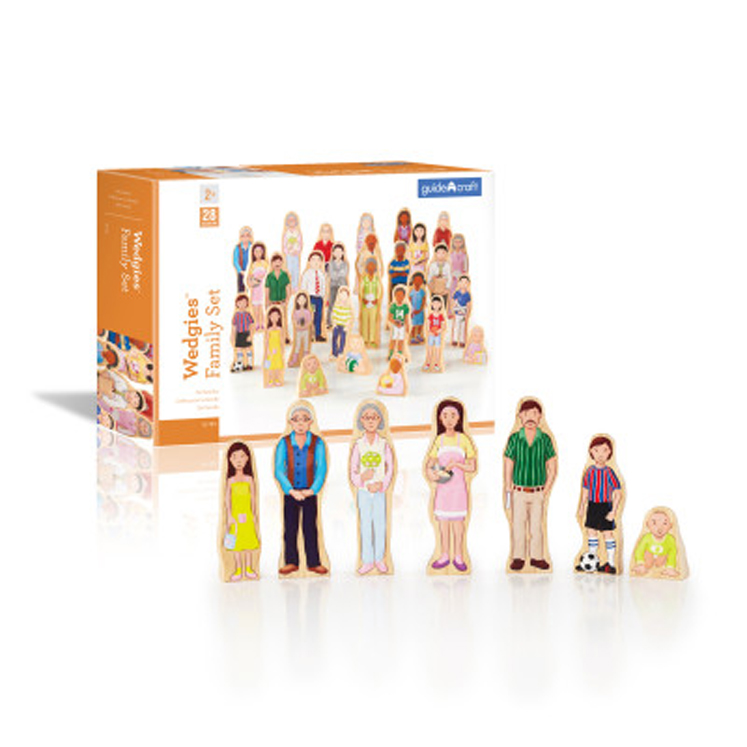 Wedgies Multi-Cultural Family Set