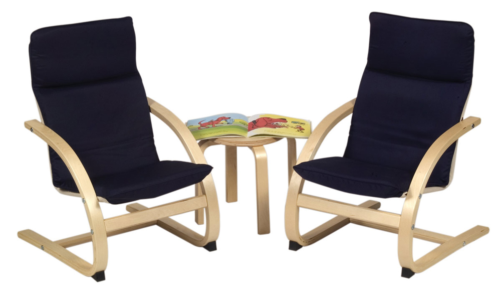 Kiddie Rocker Chair Set - Blue