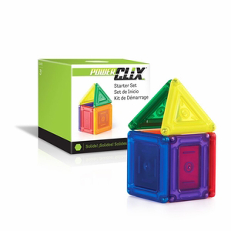 Power Clix 6 Piece Starter Set - Solids