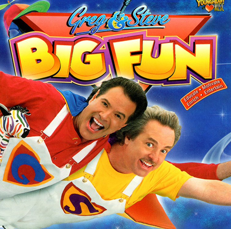 Greg & Steve Big Fun CD