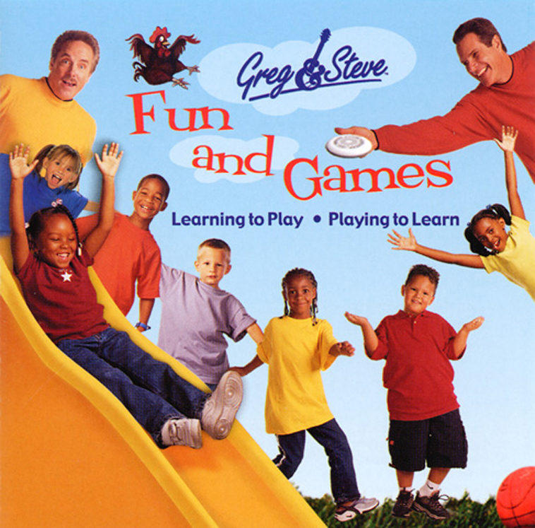 Greg & Steve Fun and Games CD