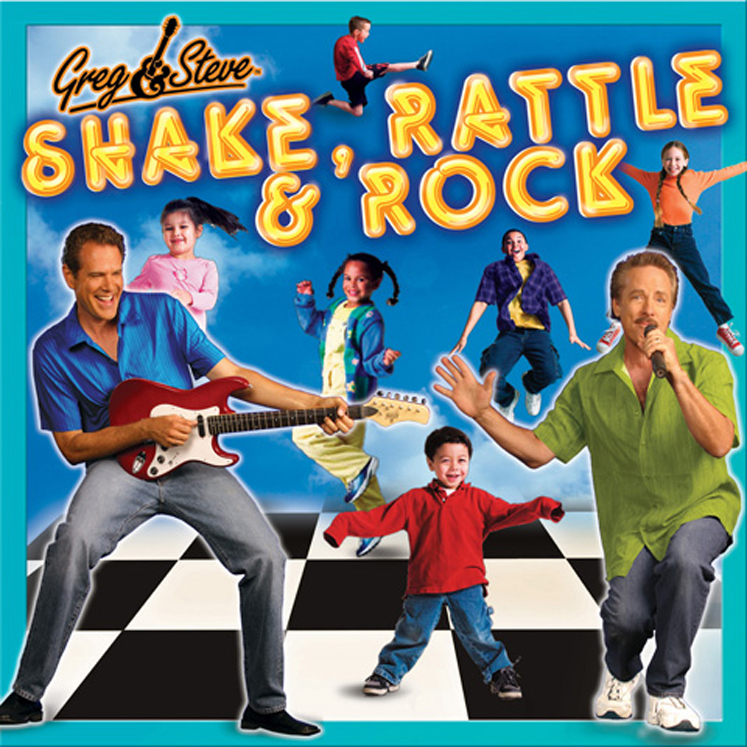Greg & Steve Shake, Rattle & Rock CD