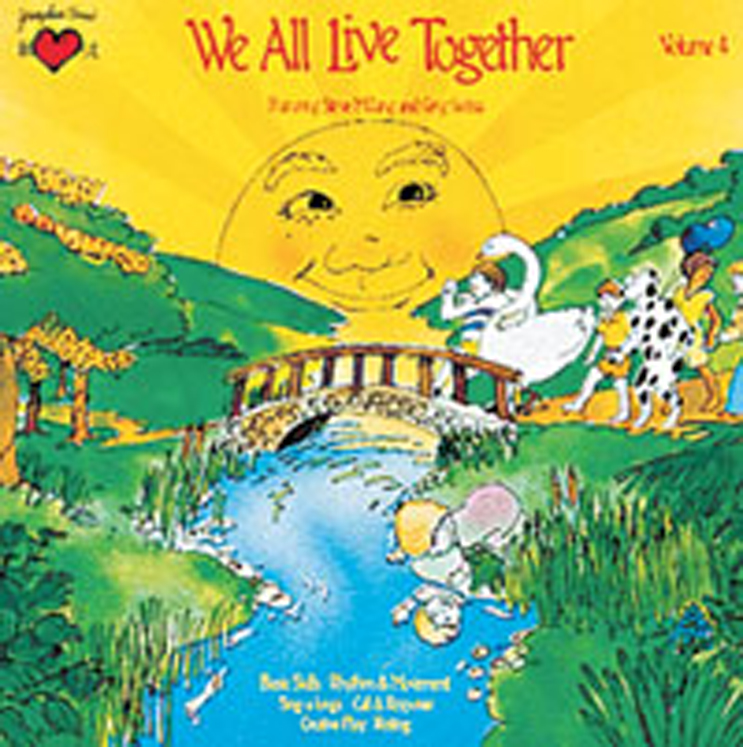 Greg & Steve - We All Live Together, CD, Vol. 4