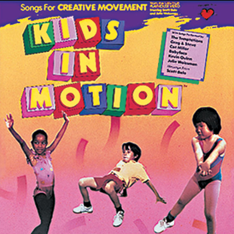 Greg & Steve - Kids in Motion, CD