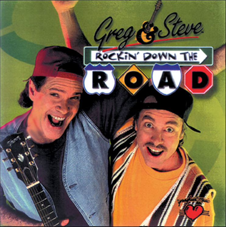 Greg & Steve - Rockin Down The Road, CD