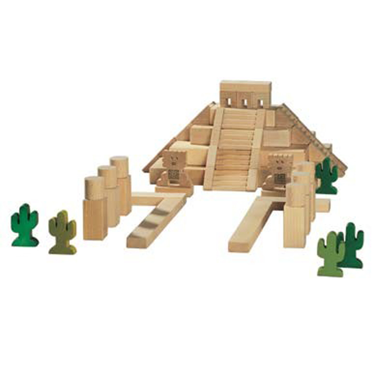 Mayan Temple Architectural Blocks Set