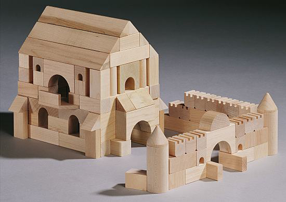 Medieval Castle Building Blocks
