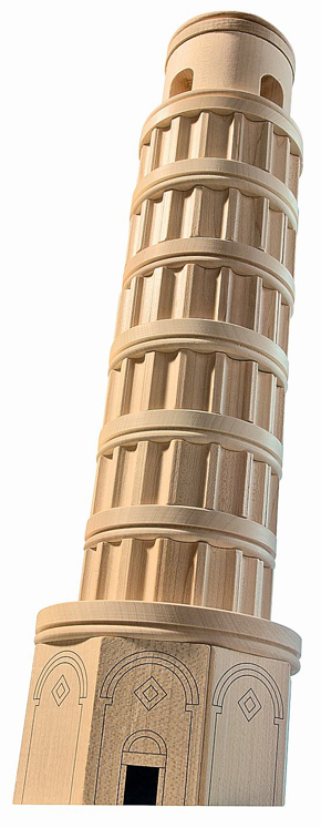 Leaning Tower of Pisa, Architectural Blocks